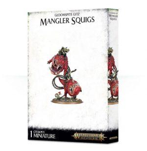 Games Workshop Age of Sigmar  Gloomspite Gitz Gloomspite Gitz Mangler Squigs - 99120209050 - 5011921112753