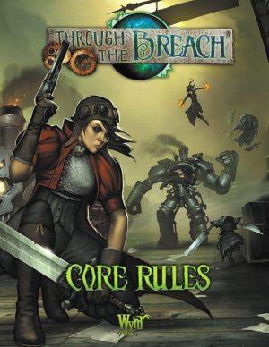 Wyrd Through the Breach  Through the Breach Through The Breach Second Edition - WYR30107 - 9780997130423
