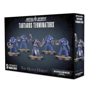 Games Workshop (Direct) Warhammer 40,000 | The Horus Heresy  The Horus Heresy Space Marine Tartaros Terminators - 99120101171 - 5011921080809