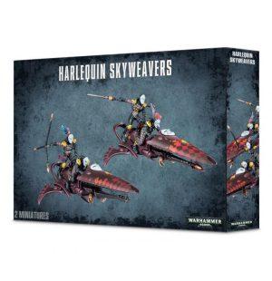 Games Workshop Warhammer 40,000  Harlequins Harlequin Skyweavers - 99120111002 - 5011921057184