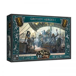 Cool Mini or Not A Song of Ice and Fire  House Greyjoy A Song of Ice and Fire: Greyjoy Heroes #1 - CMNSIF909 - 889696011220