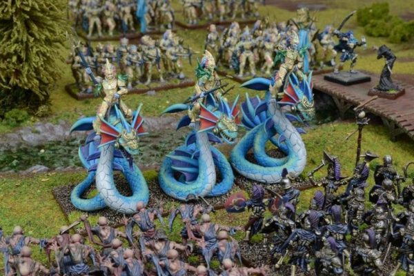 Mantic Kings of War  Forces of Nature Naiad Wyrmrider Regiment - MGKWN402 - 5060469660370