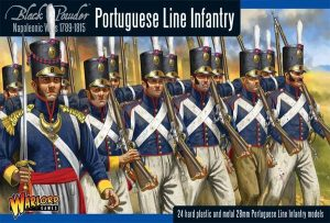 Warlord Games Black Powder  British (Napoleonic) Portugese Line Infantry - WGN-PO-01 - 5060393700876