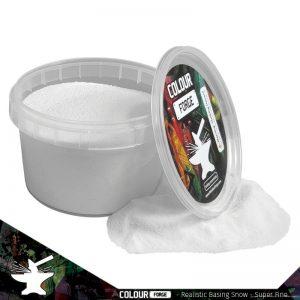 The Colour Forge   Snow Realistic Basing Snow - Super Fine (275ml) - TCF-BAS-017 - 5060843101000