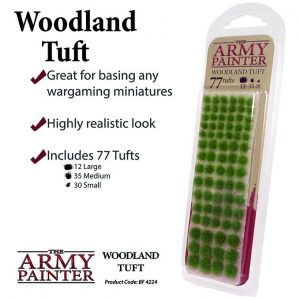 The Army Painter   Tufts Battlefields: Woodland Tuft - APBF4224 - 5713799422407