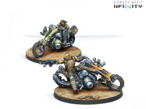 Corvus Belli Infinity  Haqqislam Haqqislam Kum Motorized Troops - 280466-0467 - 2804660004679