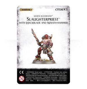 Games Workshop (Direct) Age of Sigmar  Blades of Khorne Slaughterpriest with Hackblade - 99070201015 - 5011921066896