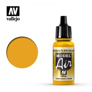Vallejo   Model Air Model Air: Yellow RLM04 - VAL078 - 8429551710787
