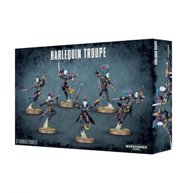 Games Workshop Warhammer 40,000  Harlequins Harlequin Troupe - 99120111004 - 5011921092253