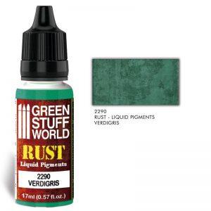 Green Stuff World   Liquid Pigments Liquid Pigments VERDIGRIS - 8436574506495ES - 8436574506495