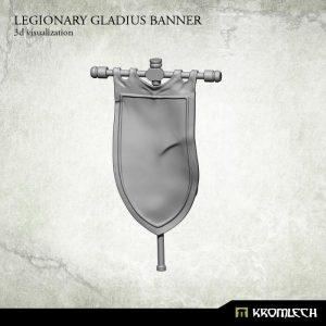 Kromlech   Legionary Conversion Parts Legionary Gladius Banner (1) - KRCB181 - 5902216115279