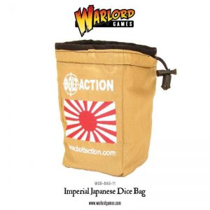 Warlord Games Bolt Action  Bolt Action Books & Accessories Imperial Japanese Dice Bag & Order Dice (White) - 408906001 - 408906001