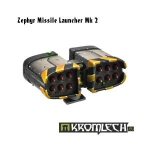 Kromlech   Vehicles & Vehicle Parts Zephyr Missile Launcher Mk2 (1) - KRVB016 - 5902216111240