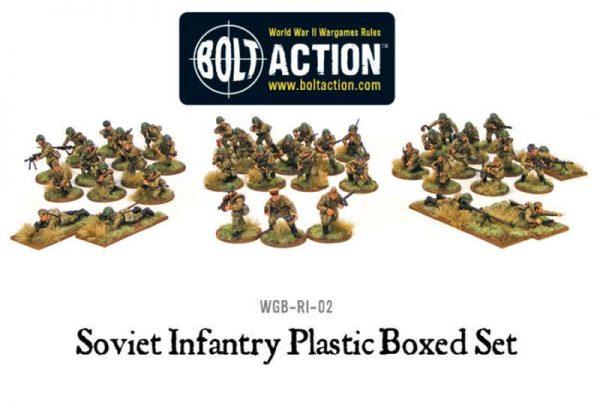 Warlord Games Bolt Action  Soviet Union (K47) Soviet Infantry (40) - 402014003 - 5060200844427