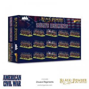 Warlord Games Black Powder Epic Battles  Black Powder Epic Battles Epic Battles: American Civil War Zouaves Regiments - 312414005 - 5060572509269