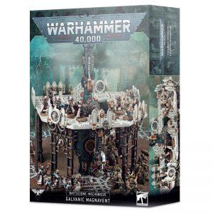 Games Workshop Warhammer 40,000  40k Terrain Battlezone: Mechanicus – Galvanic Magnavent - 99120199079 - 5011921144167