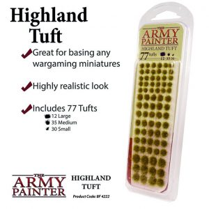 The Army Painter   Tufts Battlefields: Highland Tuft - APBF4222 - 5713799422209