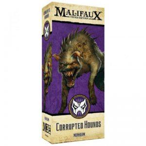 Wyrd Malifaux  Neverborn Corrupted Hounds - WYR23416 - 812152031852