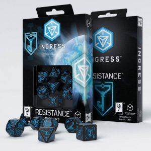 Q-Workshop   Q-Workshop Dice Ingress Resistance Dice Set (7) - SIRE67 - 5907699492770