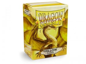 Dragon Shield   Dragon Shield Dragon Shield Sleeves Yellow (100) - DS100Y - 5706569100148