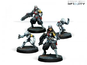 Corvus Belli Infinity  Non-Aligned Armies - NA2 JSA Support Pack - 280371-0498 - 2803710004980