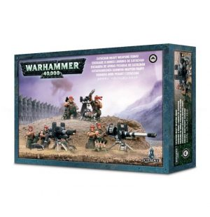 Games Workshop (Direct) Warhammer 40,000  40k Direct Orders Catachan Heavy Weapons Squad - 99120105014 - 5011921934058