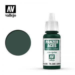 Vallejo   Panzer Aces Panzer Aces  - Green Tail Light - VAL308 - 8429551703086