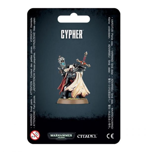 Games Workshop (Direct) Warhammer 40,000  Chaos Space Marines Cypher, The Fallen Angel - 99070102008 - 5011921088683