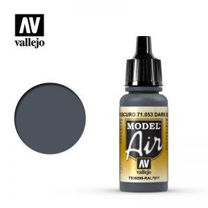 Vallejo   Model Air Model Air: Dark Sea Grey - VAL053 - 8429551710534