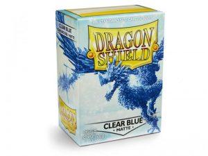 Dragon Shield   Dragon Shield Dragon Shield Sleeves Matte Clear Blue (100) - DS100MCB - 5706569110338