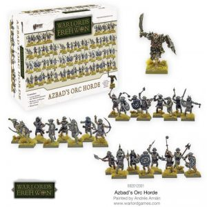 Warlord Games Warlord of Erehwon  Warlords of Erehwon Azbad's Orc Horde - 692012001 - 5060572502239
