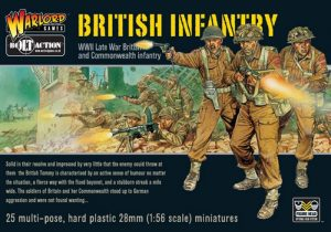 Warlord Games Bolt Action  Great Britain (BA) British Infantry (25) - 402011006 - 5060200841938