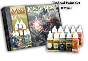 The Army Painter   Paint Sets Warpaints Kings of War Undead - APWP8016 -