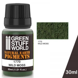 Green Stuff World   Powder Pigments Pigment WILD MOSS - 8436574501292ES - 8436574501292