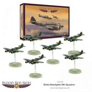 Warlord Games Blood Red Skies  Blood Red Skies Blood Red Skies: Bristol Beaufighter Squadron - 772212001 - 5060572502536