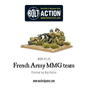 Warlord Games Bolt Action  France (BA) Early War French MMG Team - WGB-FI-23 - 5060200841570