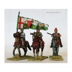 Perry Miniatures   Perry Miniatures Lancastrian mounted high command - WR4 -