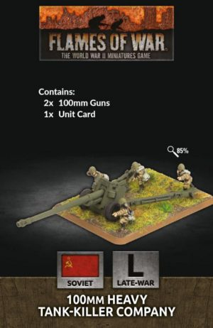 Battlefront Flames of War  SALE! Soviet 100mm Heavy Tank-Killer Company - SU521 - 9420020251588