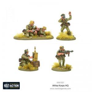 Warlord Games Bolt Action  Germany (BA) Afrika Korps HQ - 403012027 - 5060572501317