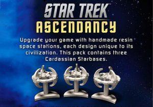 Battlefront Star Trek: Ascendancy  Star Trek Ascendancy Star Trek Ascendancy: Cardassian Starbases - ST032 - 9420020237414
