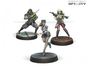 Corvus Belli Infinity  Infinity Essentials Dire Foes Mission Pack 2: Fleeting Alliance - 280003-0443 - 2800030004430