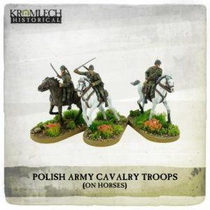 Kromlech   Kromlech Historical Polish Army Cavalry Troops on horses (3) - KHWW2026 - 5902216117686