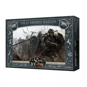 Cool Mini or Not A Song of Ice and Fire  House Stark A Song of Ice and Fire: Tully Sworn Shields - CMNSIF105 - 889696005601