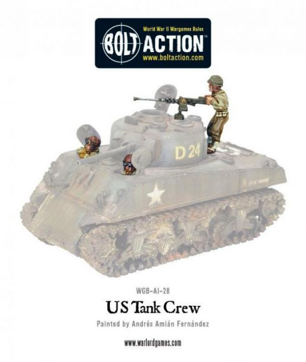 Warlord Games (Direct) Bolt Action  United States of America (BA) US Tank Crew - WGB-AI-28 - WGB-AI-28