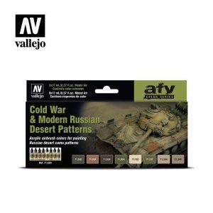 Vallejo   Model Air AV Model Air Set - Cold War and Modern Russian Desert Pat - VAL71620 - 8429551716208