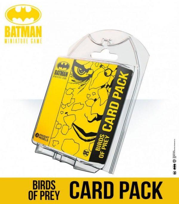 Knight Models Batman Miniature Game  SALE! Birds Of Prey Card Pack - KM-BMG013 - 8437013058384