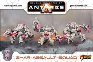 Warlord Games Beyond the Gates of Antares  SALE! Ghar Assault Squad (Plastic) - WGA-GAR-06 - 5060393703037