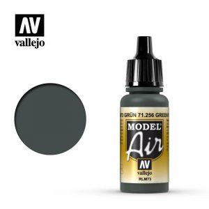 Vallejo   Model Air Model Air: Green RLM73 - VAL71256 - 8429551712569
