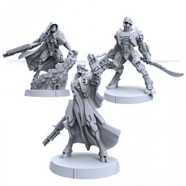 Corvus Belli Infinity  Combined Army Combined Army Booster Pack Alpha - 281607-0852 - 2816070008529