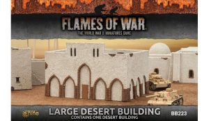 Gale Force Nine   Battlefield in a Box Flames of War: Large Desert Building - BB223 - 9420020235724